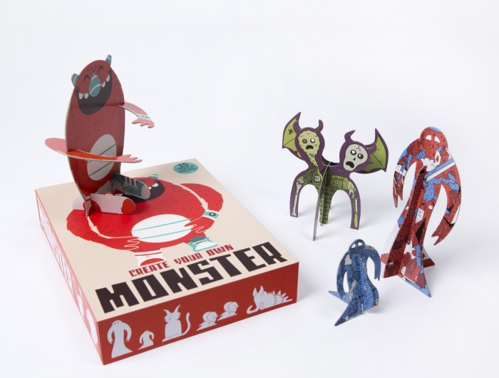 Create Your Own Monster for Christmas