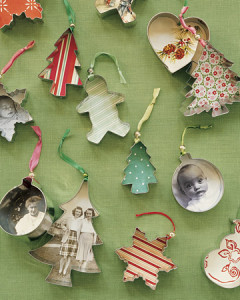 DIY Christmas Ornaments from Cookie Cutters at Martha Stewart | Cool Mom Picks