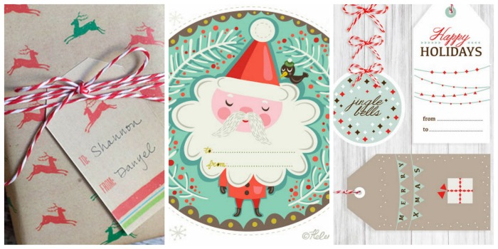 Wrap it up with the coolest free printable gift tags and gift wrap