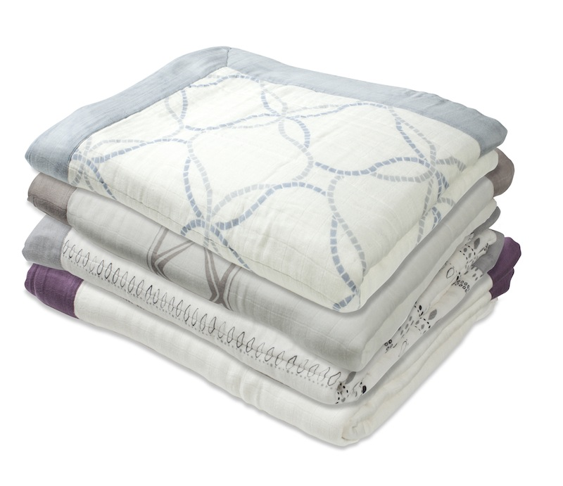 Aden and Anais Bamboo Daydream Blankets are all grown up