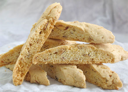 Bella's: The biscotti that makes other biscotti want to give up and just be some other cookie entirely.