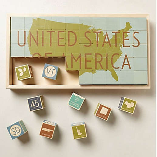 The building blocks of our nation. Way more fun than that sounds.