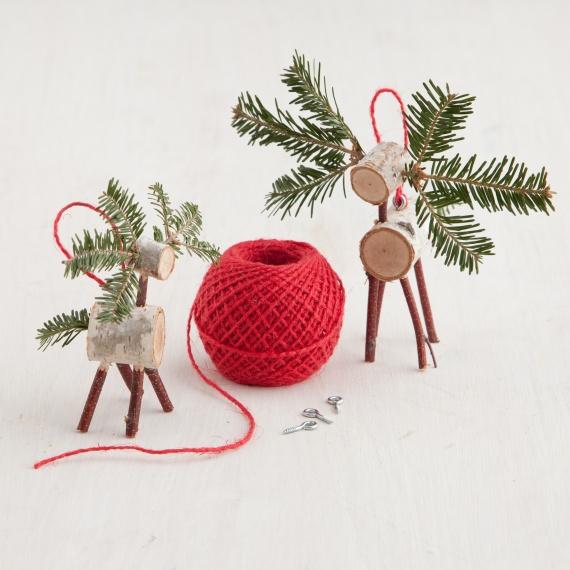 Martha Stewart Reindeer Branch Craft   Cool Mom Picks