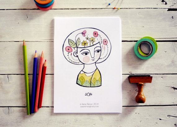 The ultimate collection of 15 of the most lovely, printable 2014 calendars. Some of them free.