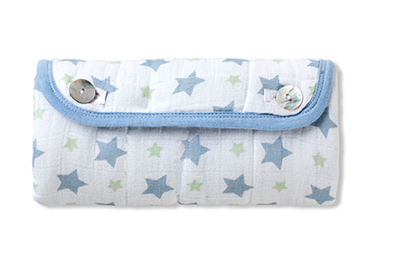 The world's cutest portable changing pad. Who knew there was such a thing?