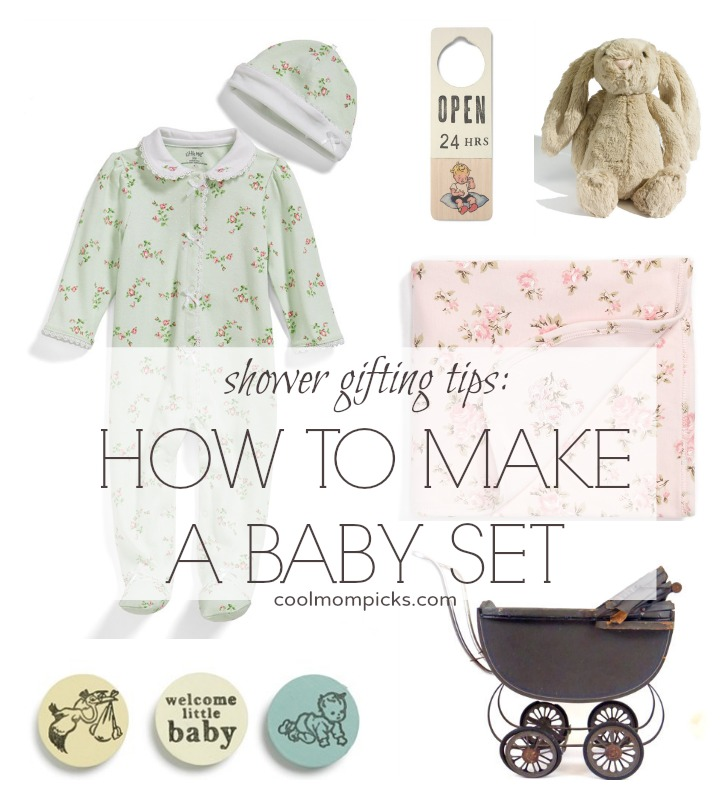 How to make a baby gift set even more special