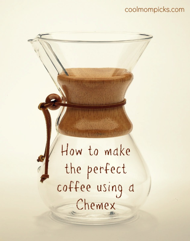 How to make coffee with a Chemex. In other words, the best coffee of your life.