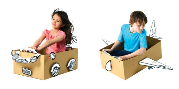 12 awesome toys you can actually make from cardboard boxes. (Because we all know the best part of the gift is often what it comes in.)