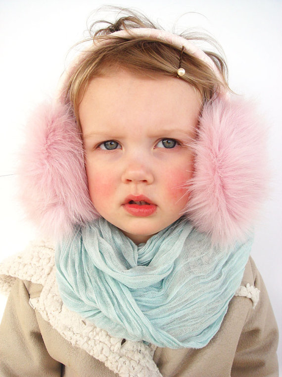 Adorable earmuffs to keep your kid (or you!) toasty during the next winter storm.