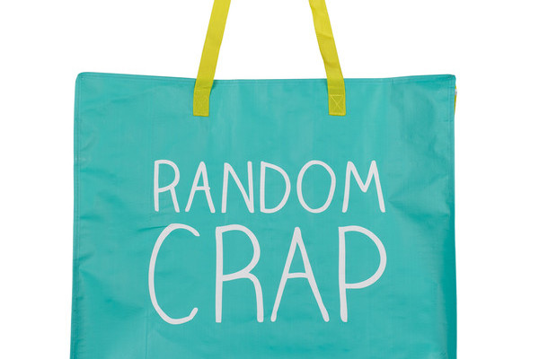 Random Crap shopper tote | Cool Mom Picks
