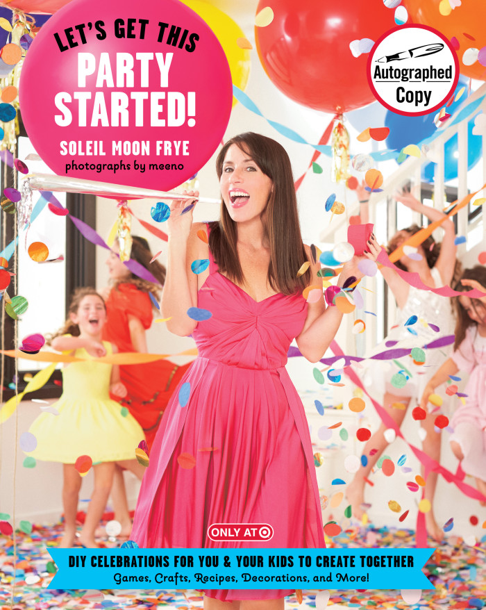 Getting the party started thanks to Soleil Moon Frye