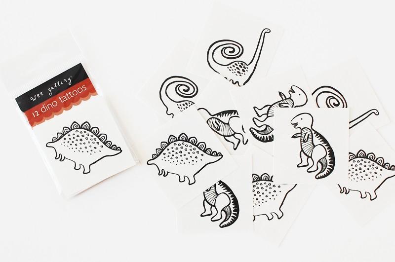 Wee Gallery Temporary Tattoos  | Cool Mom Picks