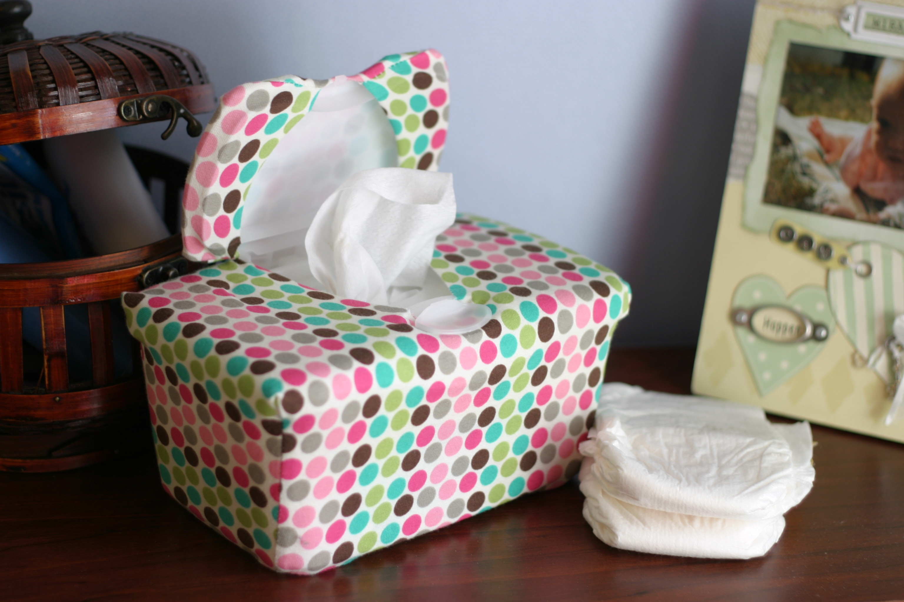 WipesWraps: Something cute on the changing table besides your baby's tush.