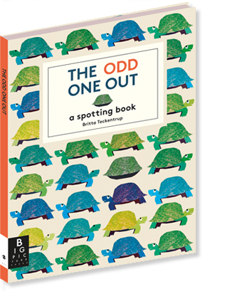 The Odd One Out: A welcome twist on the classic find-it book
