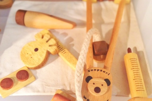 Soopsori Wooden Doctor's Kit | Cool Mom Picks