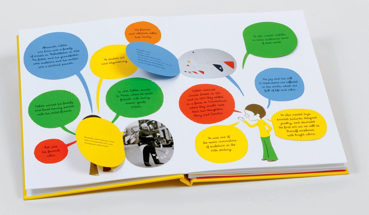 The Alexander Calder pop-up book that will make kids fall in love with art forever.