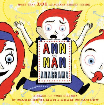 Ann and Nan are Anagrams book | Cool Mom Picks