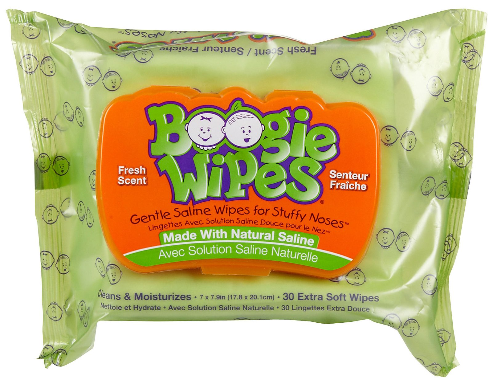 Boogie Wipes saline nose wipes   Cool Mom Picks