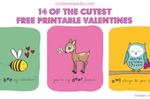 14 of the best printable Valentine's Day cards for the classroom