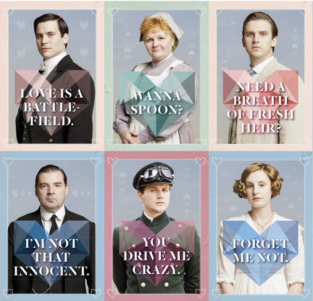 Downton Abbey Valentines: What an Earl Wants