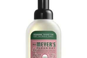 A natural, foaming hand soap with all the watermelon scent, none of the pits.