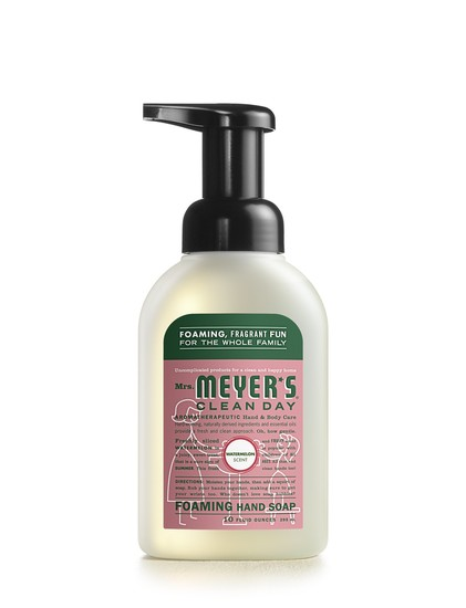 Foaming watermelon hand soap by Mrs. Meyers | Cool Mom Picks