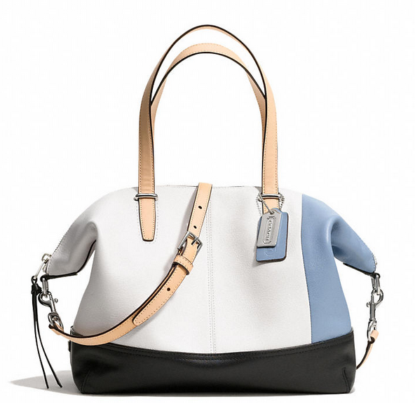 Colorful bags for spring: Coach Bleecker Cooper Satchel | Cool Mom Picks