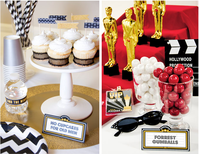 Bring some glam to your Oscars party with these fun DIY ideas and printables