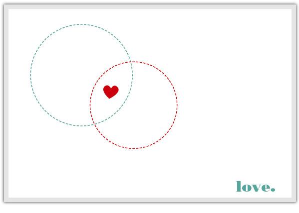 Venn Diagram Valentine's Card at SodaPop Design | Cool Mom PIcks