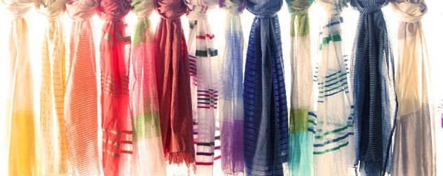 FashionABLE scarves' new spring line warms us up in lots of ways