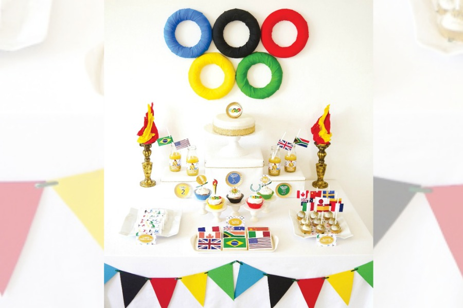 Kick off the Winter Olympics with 7 excellent party treats, printables and activities for kids
