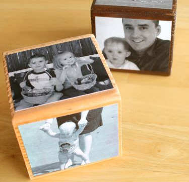 First birthday party ideas for boys - building blocks at Make and Takes