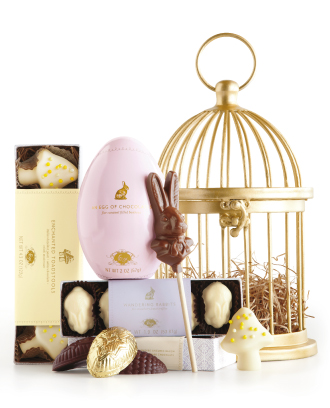 Outrageously gourmet Easter treats and chocolates that you'll share with the kids uh, never.