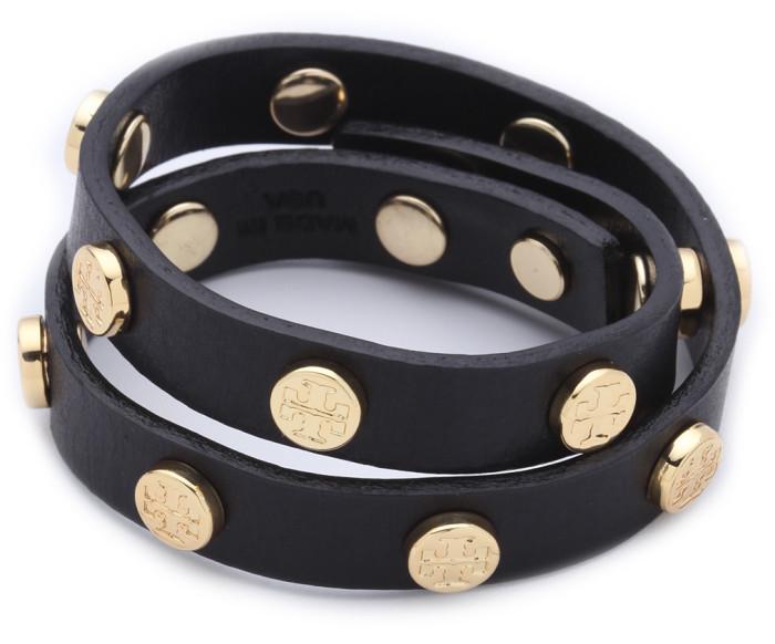 Leather Wrap Bracelet Tori Burch Cool Mom Picks