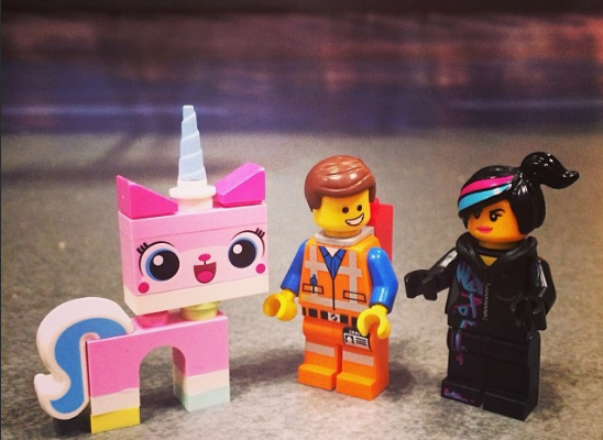 Lego Movie Minifigures | ©Cool Mom Picks