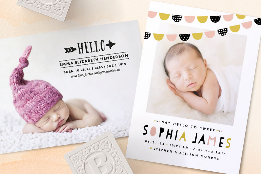 Minted birth announcements, invitations, and artwork for kids just got even more affordable.