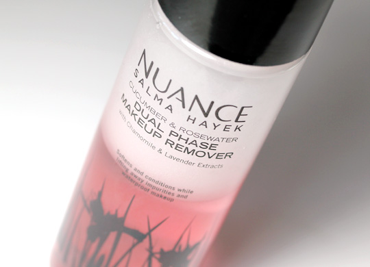 Salma Hayek Nuance Makeup Remover gets us over our fear of celebrity cosmetics