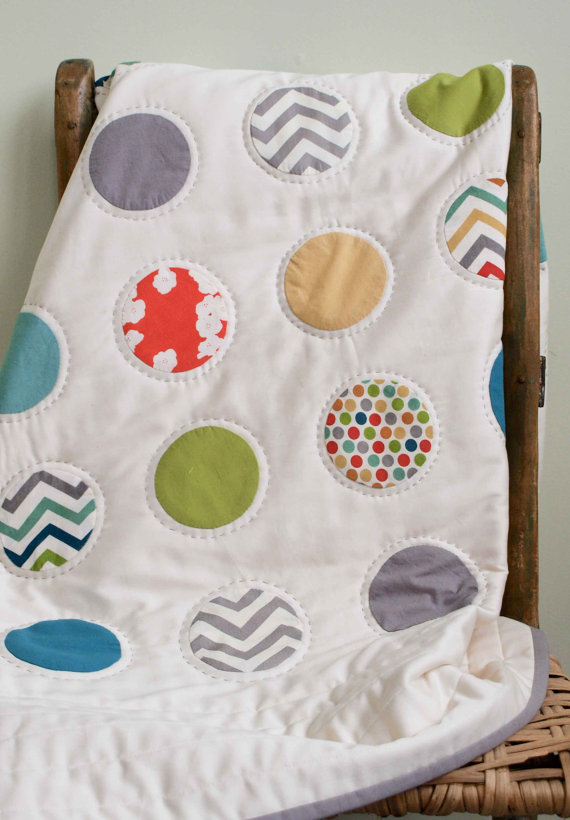 Gorgeous organic baby blankets that are more cool than crunchy