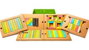Tegu magnetic building block set for classroom