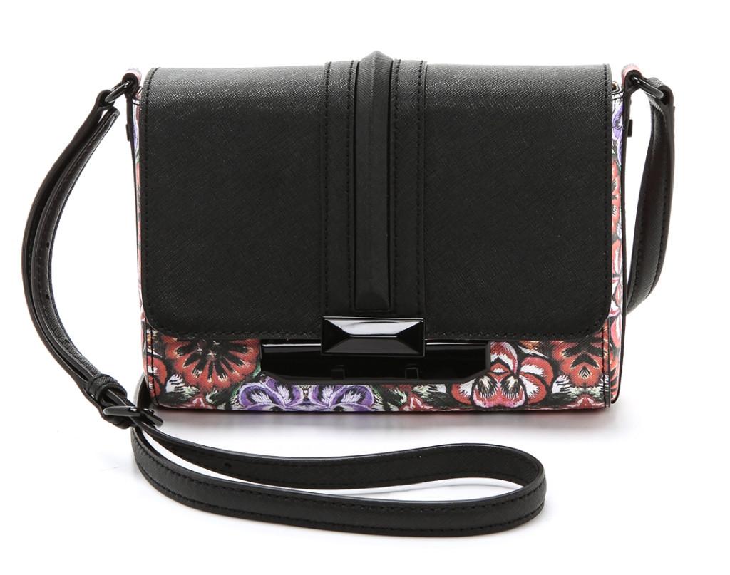 Floral Accessories Spring Trend: Rebecca Minkoff floral crossbody bag   Cool Mom Picks