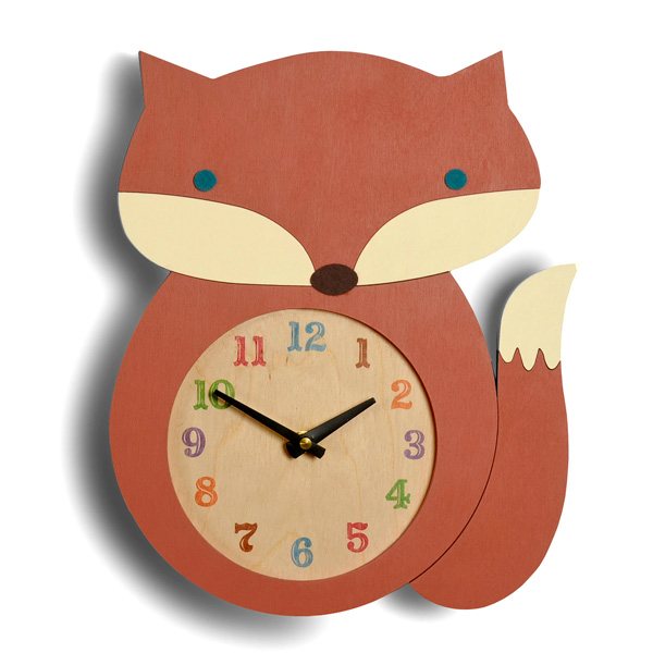 What does the fox say? Let me tell you the time.