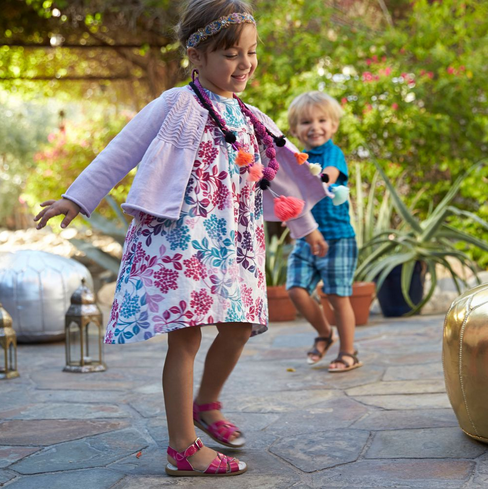 The prettiest girls' Easter dresses that your daughters will never want to take off. (For better or for worse.)