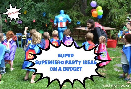 Some of the best superhero party ideas on a budget
