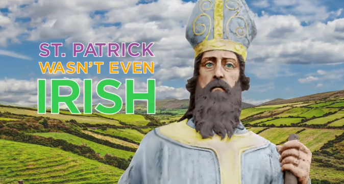 What's the story of the real St. Patrick's Day? History Channel to the rescue.