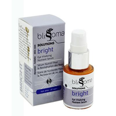 Natural skin care brands: Blissoma Bright Eye Serum review | Cool Mom Picks