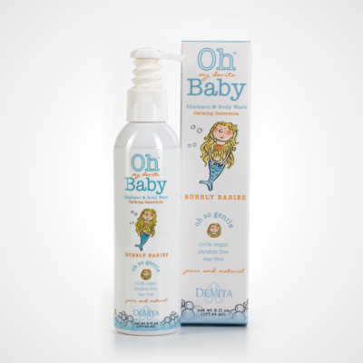 Bubbly Babies vegan shampoo for kids review on Cool Mom Picks