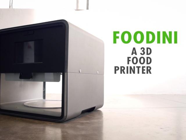 Foodini 3D Food Printer | Cool Mom Picks