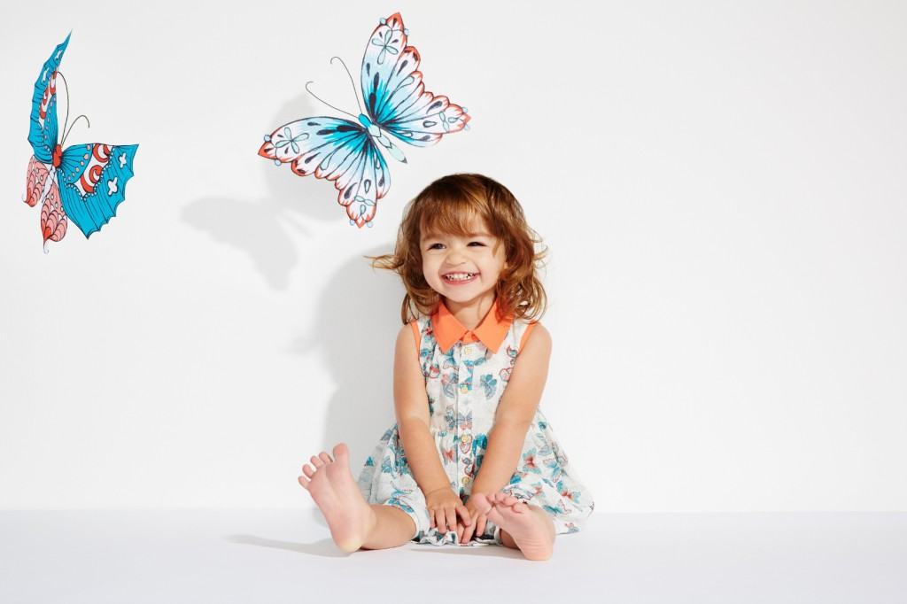 Kardashian Kids Butterfly Two-Piece for baby girls