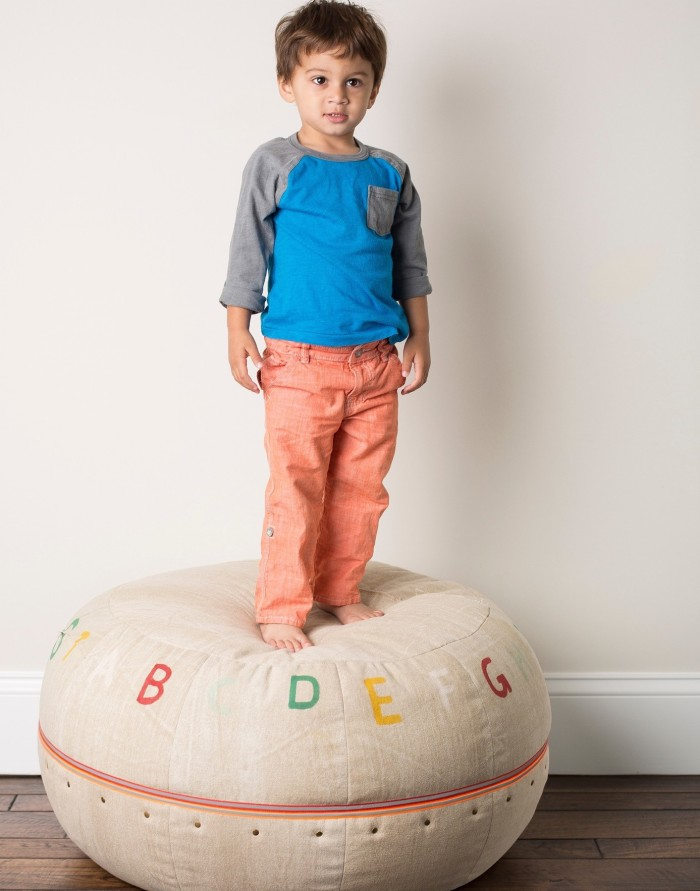 A new collection of deliciously soft, handcrafted kids' home accessories from Lil' Pyar