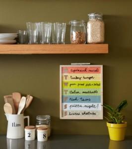 Menu Board from Petit Collage | Cool Mom Picks